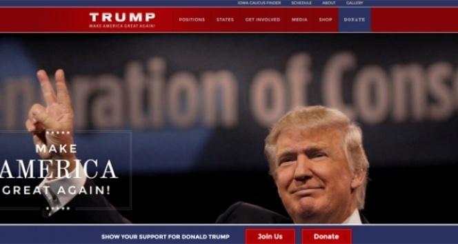 Türk hacker, Donald Trump'ın sitesini hackledi